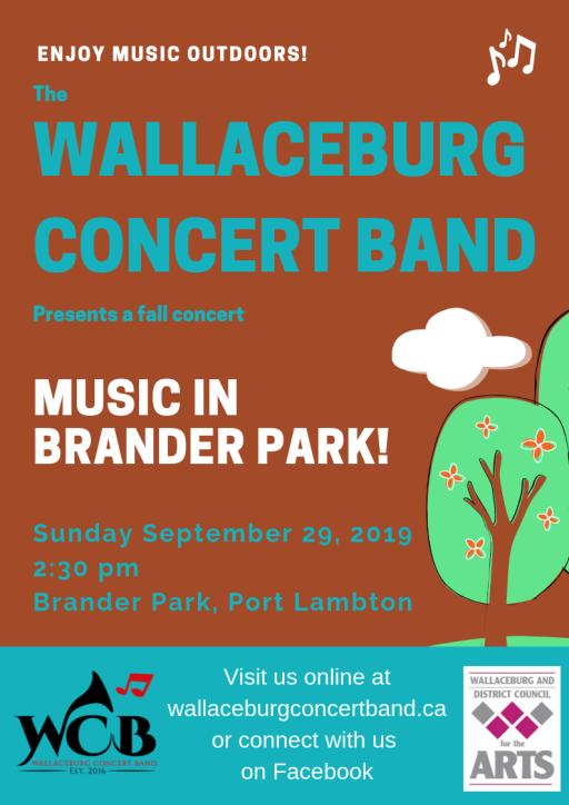 Music IN BRANDER Park!
